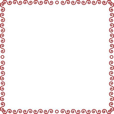 clip borders swirly border clip at clker vector clip