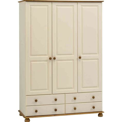 richmond four drawer three door wardrobe