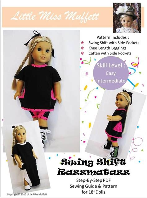how does swing shift work little miss muffett swing shift razzmatazz doll clothes