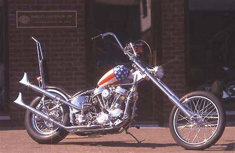 Motorrad Captain America Film by Ame Chopper Firmenportrait Ein Bericht Von Winni Scheibe