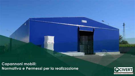 capannoni mobili senza concessione edilizia normativa
