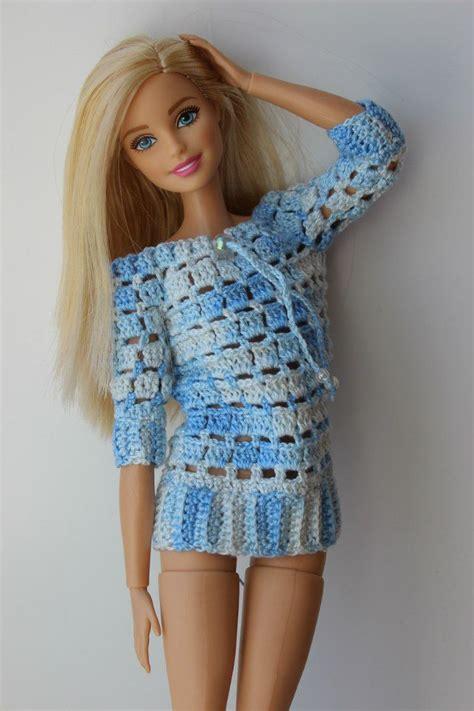 design clothes for barbie dolls 729 best images about crocheting for designer dolls on