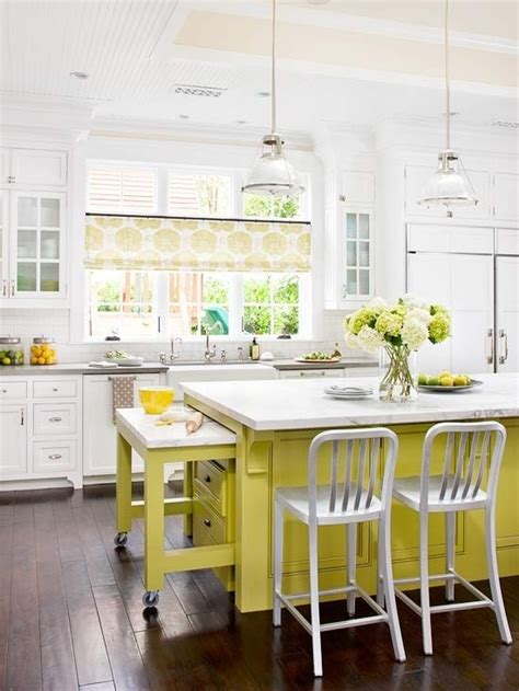 yellow and white kitchen ideas cheerful summer interiors 50 green and yellow kitchen
