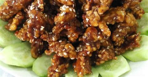 Mustika Manis Madu 7 resep daging babi saus madu enak dan sederhana cookpad