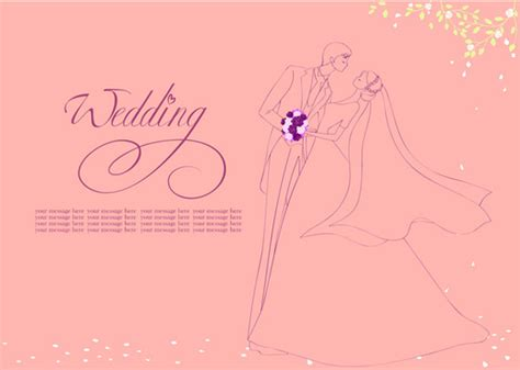 Wedding Background Cdr by Vector Wedding Card Free Vector 13 039 Free