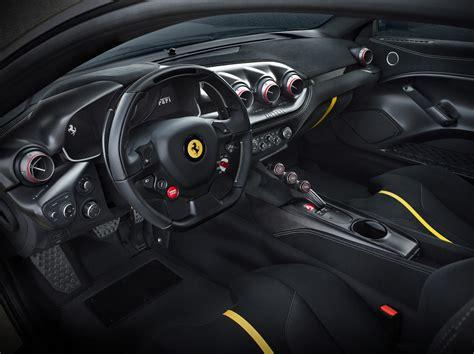 upholstery dashboard 2016 ferrari f12 tdf the death supercar with a v12