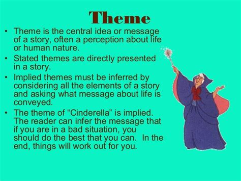 themes in popular stories elements of a short story with cinderella exles
