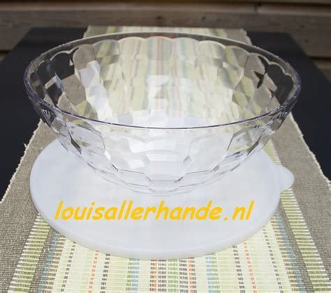 Tupperware Prisma Bowl 3 5liter tupperware prisma schaal transparant 3 5 liter louis