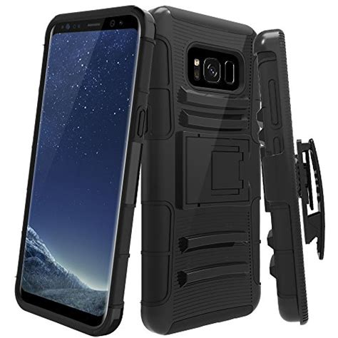 Armor Defender Holster Belt Soft Casing Samsung Galaxy S7 galaxy s8 plus lk heavy duty black armor holster