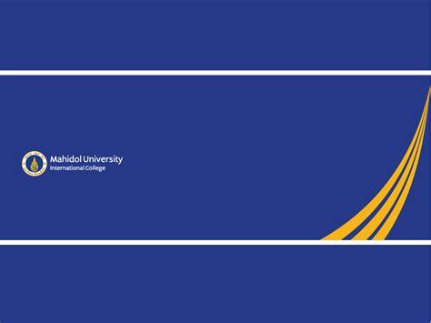 powerpoint templatesmahidol university international