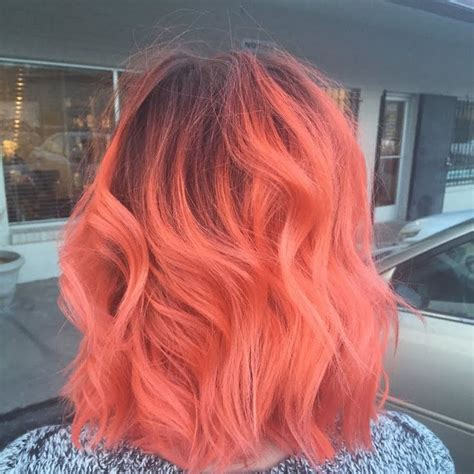 best 25 coral hair color ideas on coral hair