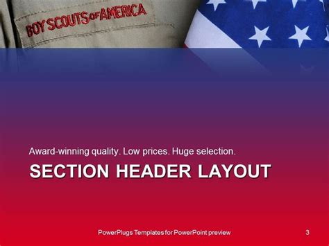 Eagle Scout Powerpoint Template Business Plan Template Boy Scout Powerpoint Template