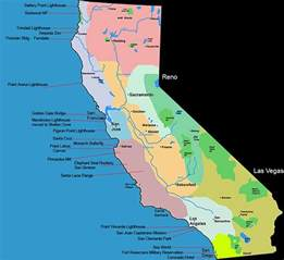 map of california coastline map of california coast california map
