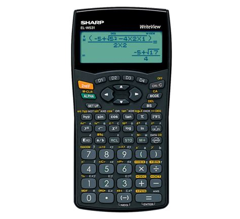 Sharp Calculator El 501x Scientific Kalkulator Kuliah El 501 X sharp el w531b writeview scientific calculator calculators direct