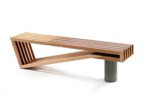 modern furniture bench a beautifully designed bench from sawdust bureau selectism