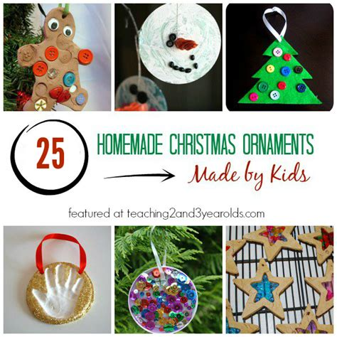 christmas ornaments to make with oreschool boy 25 ornaments for