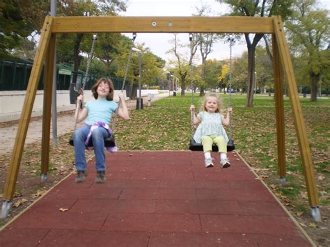 swing on swings for the baby kidsswingsets