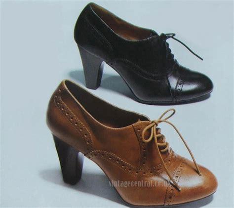 heeled brogues vintage central