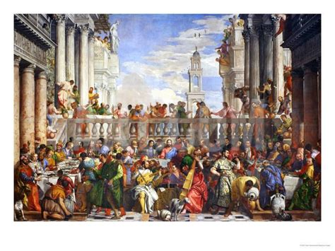 Wedding At Cana Logic by The Wedding At Cana Post Restoration Giclee Print By