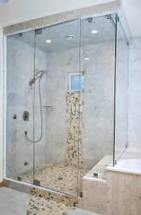 back gallery for river rock tile bathroom ideas shower shr and stone design baths