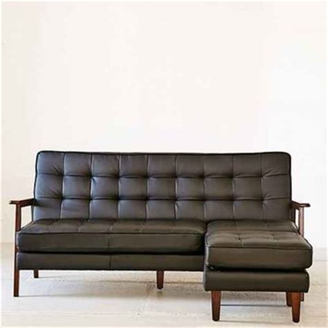 vegan leather couch cbell vegan leather sectional sofa from urban outfitters