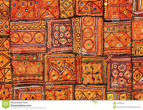 indian patchwork carpet royalty free stock image image