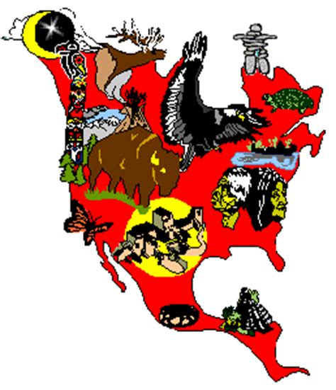 maps of native american nations, history, info