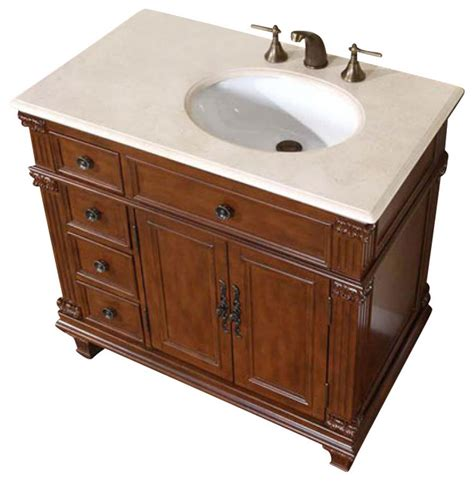 houzz vanity silkroad exclusive 36 inch traditional single sink