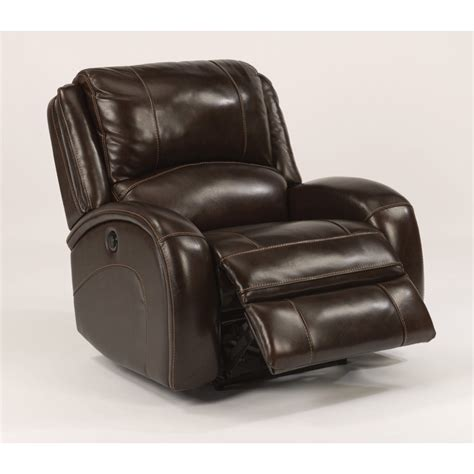 cheap power recliners flexsteel 1579 50lp jenison leather power recliner