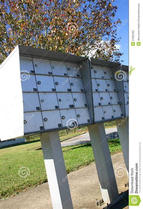 cassette della posta esterne cassette postali esterne dell appartamento fotografia