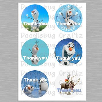 olaf printable gift tags best thank you tags downloadable products on wanelo