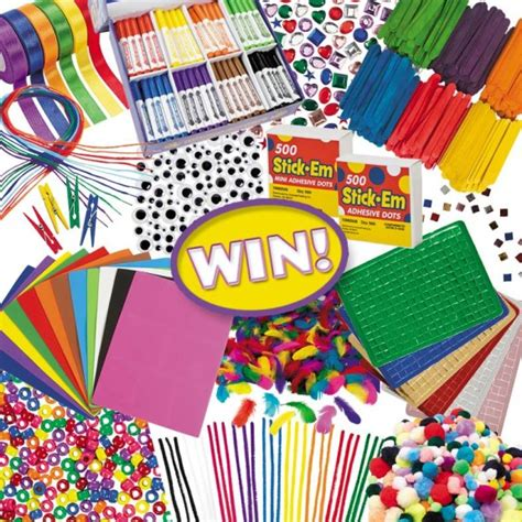 Oriental Trading Giveaway - thrifty momma ramblings oriental trading kids craft supplies craftbox giveaway
