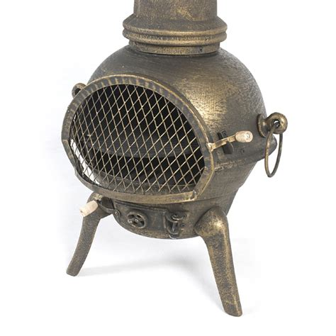 cast iron chiminea large chiminea cast iron a beautiful cast iron chiminea a