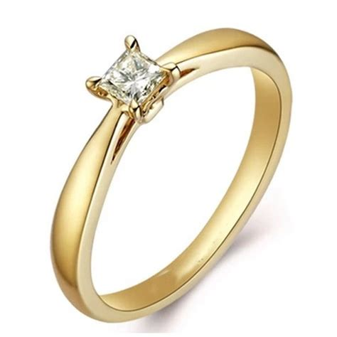 attractive certified cheap solitaire wedding ring 0 25