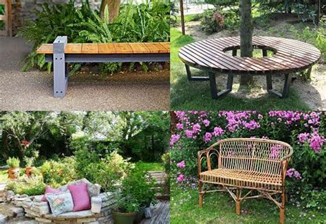 Backyard Bench Ideas 30 Unique Garden Benches Adding Inviting And Decorative Accents To Backyard Designs