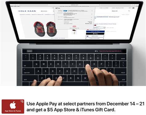 Apps That Give You Gift Cards - apple will give you a 5 itunes gift card if you use apple pay at select retailers