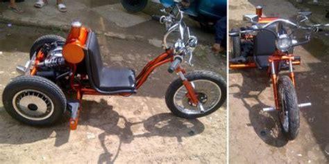 modifikasi vespa jadi gokart vespa inspirasi sepeda anak kecil merdeka