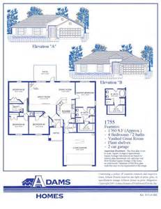 adam homes floor plans featured home the adams homes 1755 adams homes