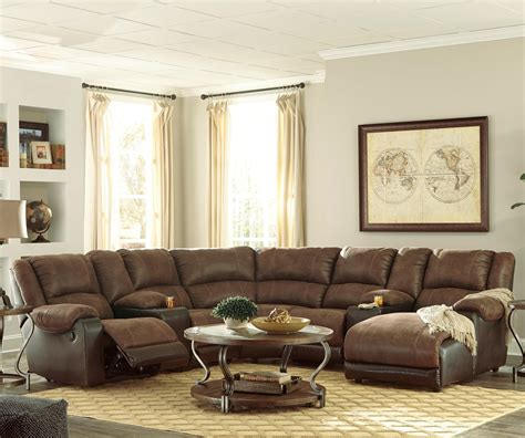 ashley signature sectional signature design by ashley nantahala faux leather