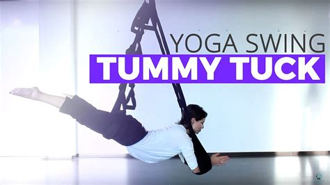 yoga swing tutorial tummy tuck tutorial on the omni yoga swing youtube