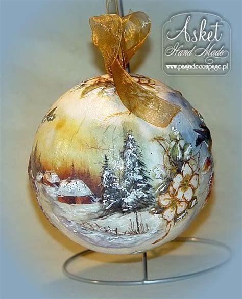 decoupage glass ornaments decoupage bombki szukaj w deco bombki