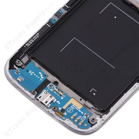 samsung galaxy s4 sph l720 front housing with lcd and digitizer etrade supply
