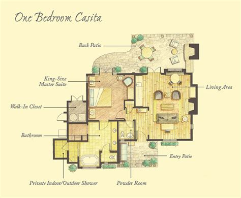 Small Home Floor Plans by Floor Plans Mayacama Casitas Timbers Collection