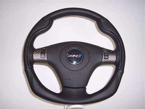 c6 corvette 2005 2013 d style leather steering wheel