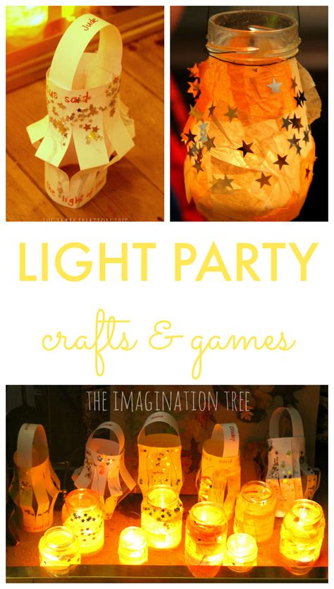 what is light for kids light party crafts and games for kids the imagination tree