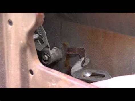 removing door lock cylinder 1989 chevrolet corvette gm door lock cylinder removal chevy c10 youtube