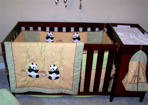 panda crib bedding amazon com giant panda bear baby crib nursery bedding