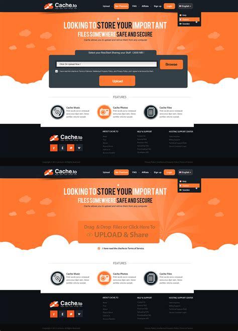 design site upload site web design by vasiligfx on deviantart