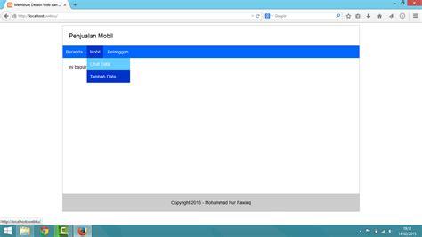 membuat menu dropdown sederhana di php membuat desain web simple dan menu dropdown keren yukcoding