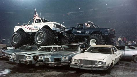 history of bigfoot monster bigfoot vs usa 1 the birth of monster truck madness